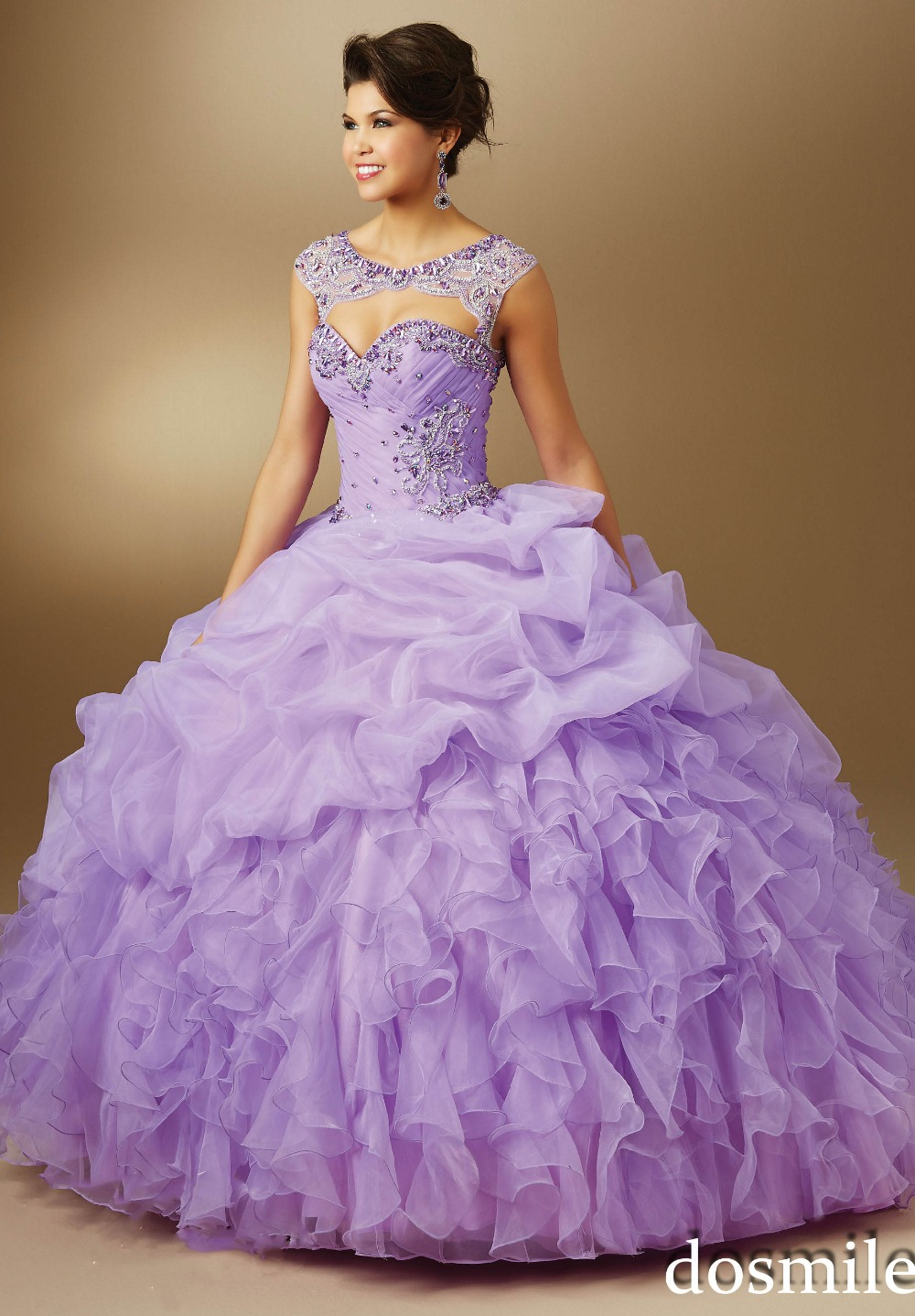 8f3db66d013 Lavender Ball Gown Quinceanera Dresses - Gomes Weine AG