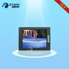 ZQ104TC-BUV/10.4 inch 800×600 VGA metal case industrial Anti-interference Embedded Open frame touch monitor LCD screen display