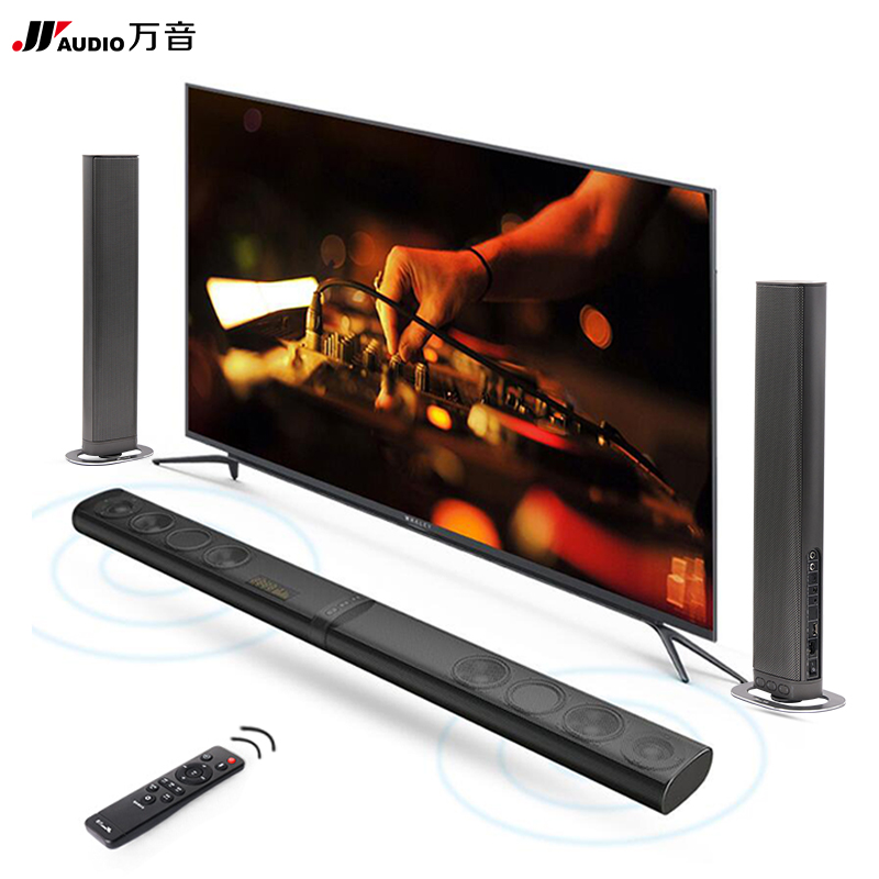 8 Speakers HiFi Detachable Wireless Bluetooth Soundbar 3D Surround Stereo Subwoofer for TV Home Theatre System Optical Sound Bar