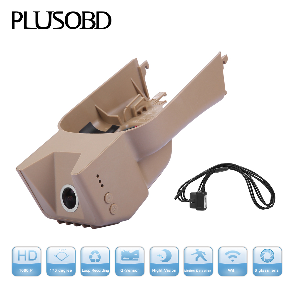Special Car Dvr Vehicle Traveling Data Recorder Rearview Mirror HD 1080P 30FPS Car DVR Dash with G-sensor for Benz