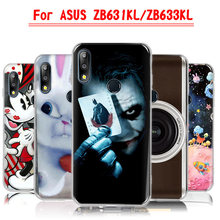 Phone Case For Asus Zenfone Max Pro M2 ZB631KL Cover Silicone TPU Soft ZB ZB631 631 631KL KL 6.3 icnh