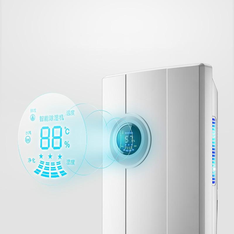 CS-10F household humidifier Intelligent dehumidifier Air dehumidifier bedroom Mini mute Dryer цена и фото