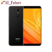 Оригинальный Gome U7 мини смартфон 4 ГБ оперативная память 64 ГБ Встроенная helio X20 deca core спереди 16.0MP сзади 13.0MP отпечатков пальцев ID Iris