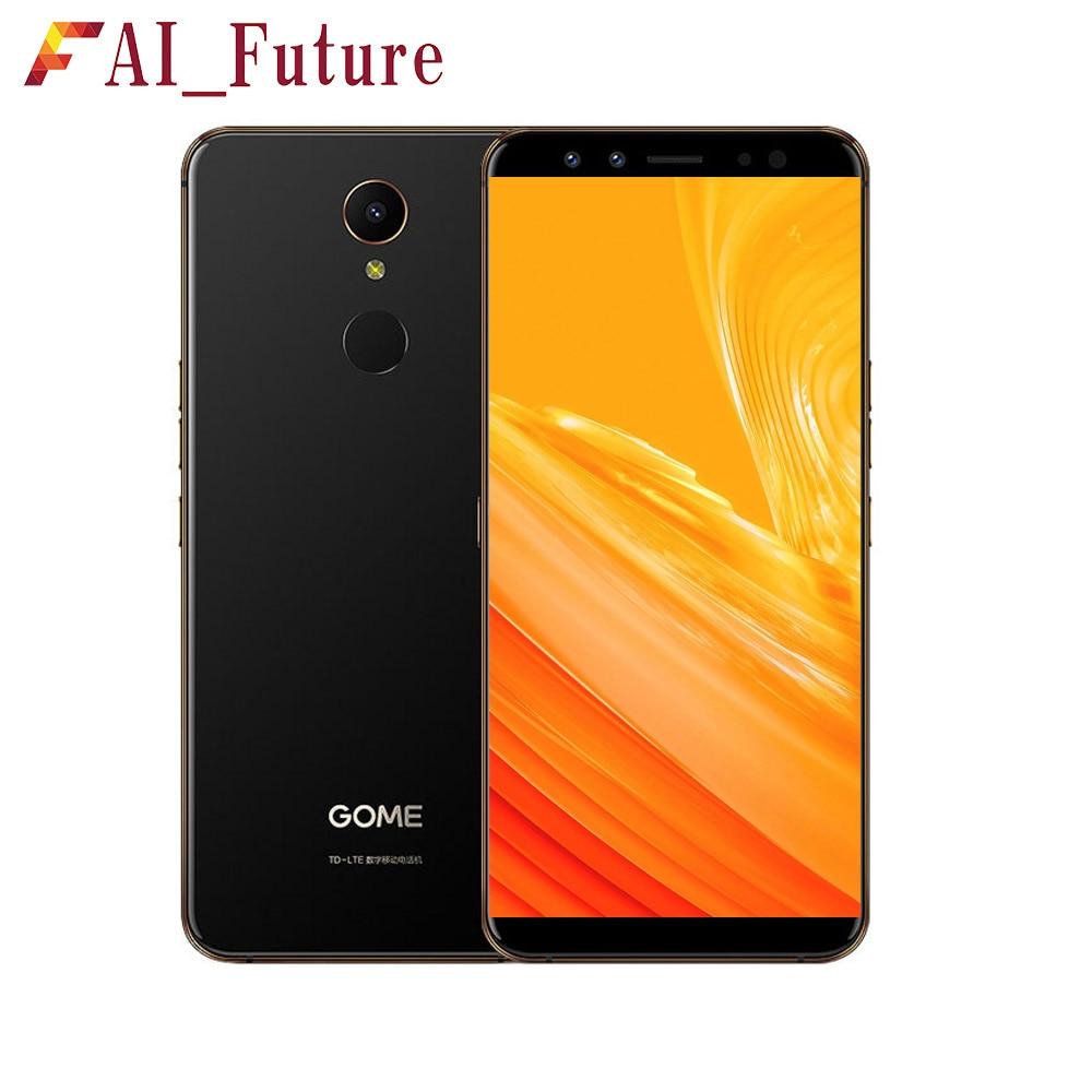 Original Gome U7 Mini Smartphone 4GB RAM 64GB ROM Helio X20 Deca Core Front 16.0MP Rear 13.0MP Fingerprint ID Iris Recognition