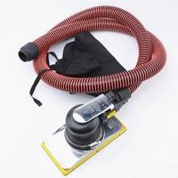 vibrating pneumatic sand paper machine 8470 rectangular grinding tool vacuum cleaning polishing sanding machine 95*175mm
