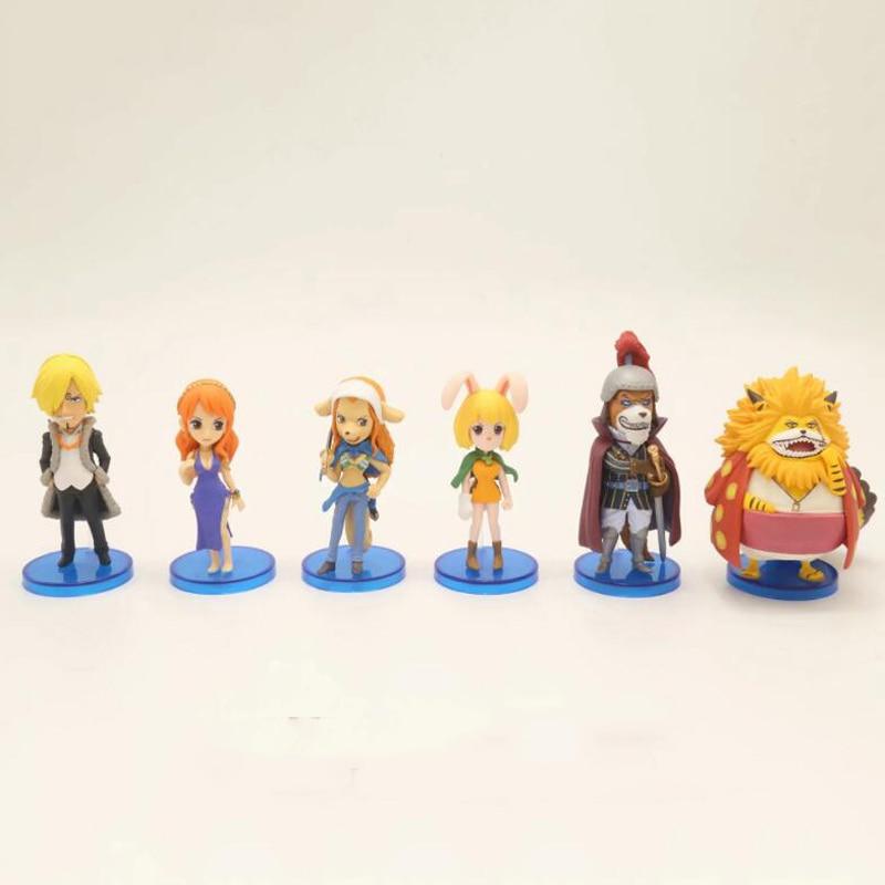Figurine animé une pièce Nico Robin Vinsmoke Nendoroid Sanji jouets figurines poupée KA157