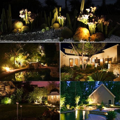 decorative yard lights