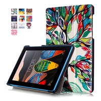 PU Leather Case For Lenovo Tab 3 7 0 710F 701I Essential Tablet Case Magnet Stand