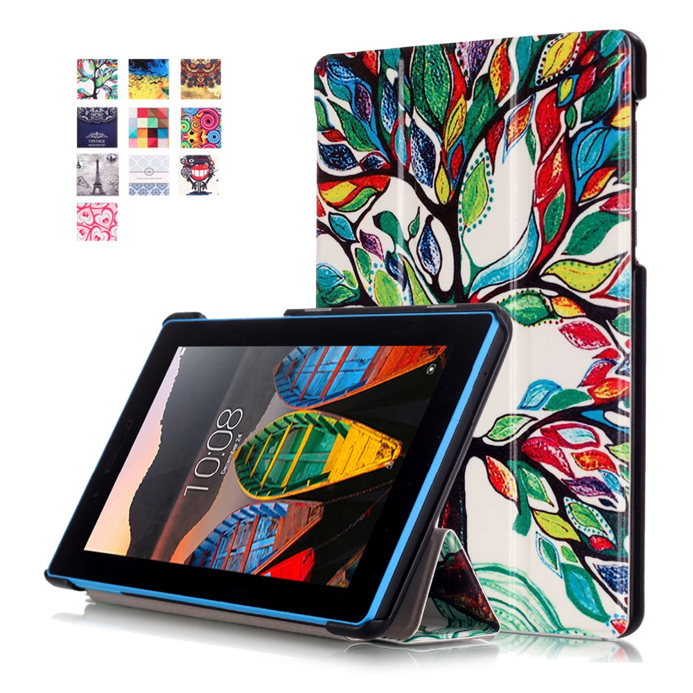 PU Leather Case for Lenovo Tab 3 7.0 710F 701I Essential Tablet Magnet Stand Cover for funda Lenovo Tab3 TB3-710F TB3-710I CAPA