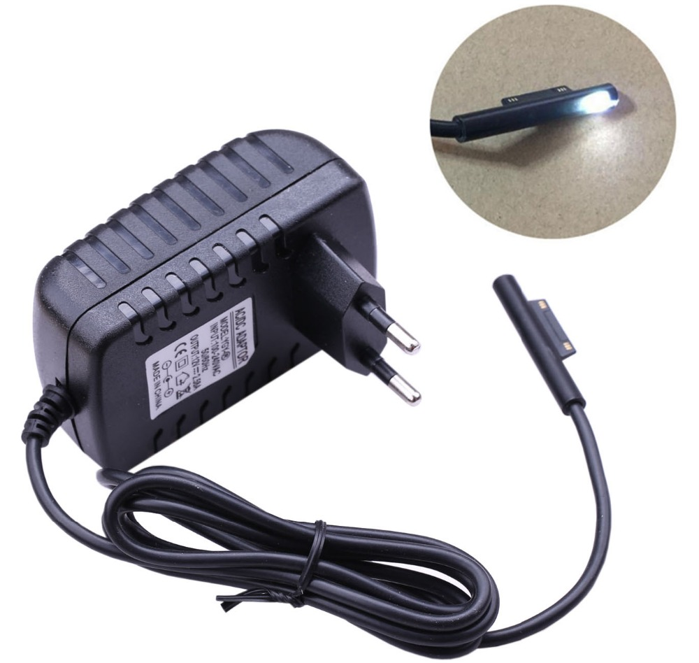 12V 2.58A AC Laptop Power Supply Adapter EU US Plug Wall Charger for Microsoft Surface Pro 3 Pro3 Pro4 Pro 4 (i5 i7) 12v ac charger power supply adapter for microsoft surface pro 3 tablet us plug apr10 35