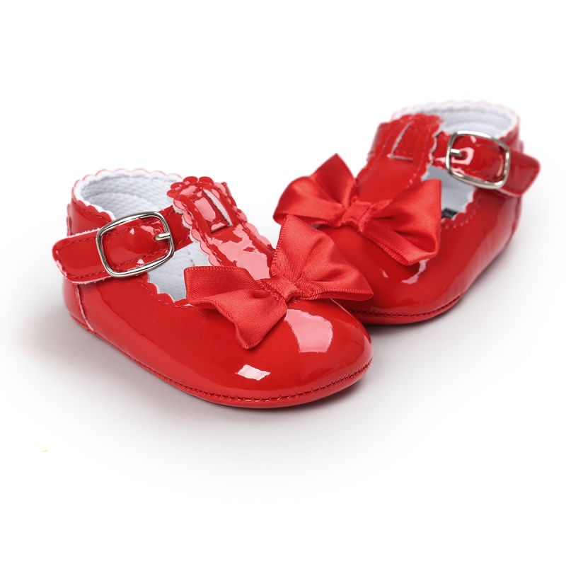 17 Fashion Kids Baby Girls Newborn Shoes PU Leather First Walkers Boots Cute Non-slip Shoes 9