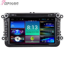 "Topnavi 8"" Quad Core Android 6.0 Car DVD Multimedia Player for VW Universal Autoradio GPS Navigation Audio Stereo Bluetooth"