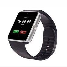 2016 Bluetooth Smart Uhr GT08 tragbare geräte Smartwatches Unterstützung Sim Karte MP3 Für ISO/Android telefon