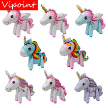 VIPOINT PARTY 57x58cm blue pink white red unicorn foil balloons wedding event christmas halloween festival birthday party PD-94