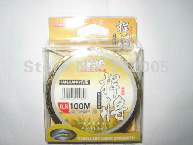 Favourable nylon monofilament fishing line diameter from 0.158mm to 0.387mm ,100meters spool 10pcs/lot