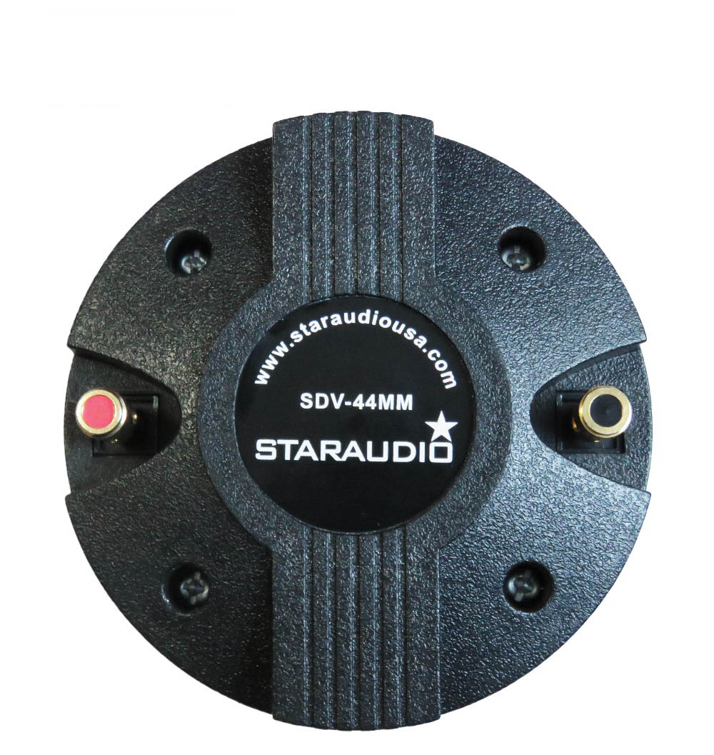 staraudio 2400w 1.75 titanium compression screw on horn driver tweeter
