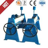 WS 1.5*1300 manual steel folding machine /steel sheet metal bender / duct folding equipment