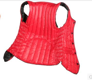 Moralité Red 1 2 Grands Cultivent De Femmes Chantiers Gilet Noir Automne Mode rouge hiver pourpre Qualité Down Ses mei mei Robes Haute Belle UwPATn1q4
