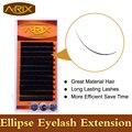 Cashmere Flat Ellipse Eyelash Extension 0.15/0.20 All Size 8-15mm Length 0.07 end False Mink Hair Individual Silk Lash Eye Lash