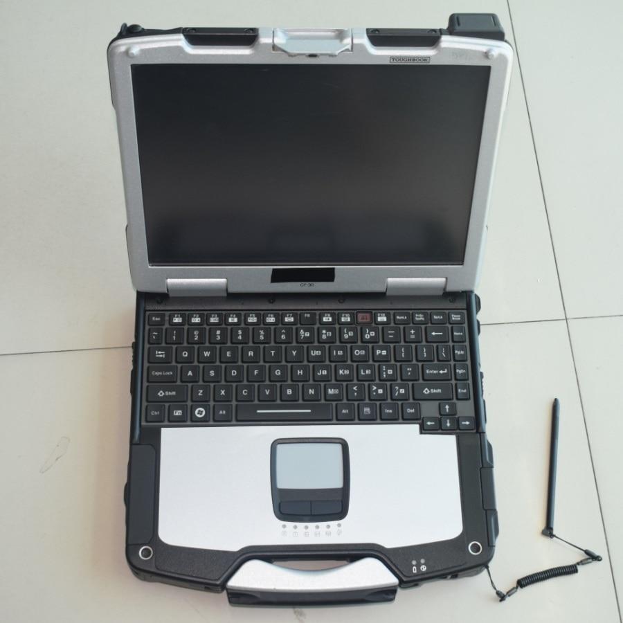 2018 Auto car diagnostic Toughbook CF 30 for panasonic CF30 laptop diagnostic computer without hdd fit for C4 C5 ICOM
