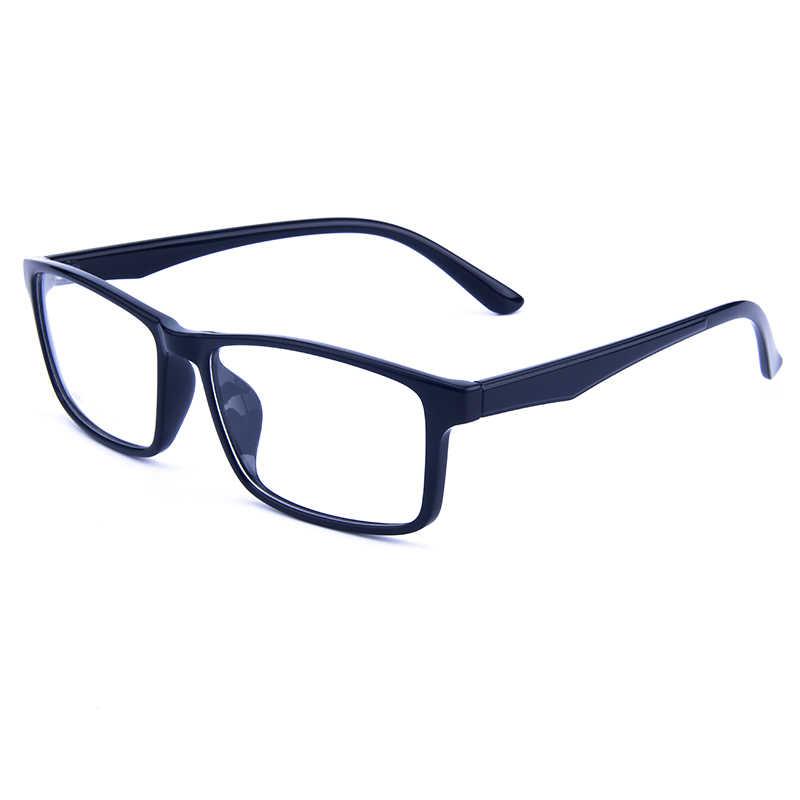 Gmei Optical Persegi Panjang Ultralight TR90 Bisnis Pria Kacamata Kacamata Resep Kacamata Bingkai Wanita Penuh Rim Kacamata G6087