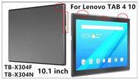 "вкладка сервис чехол для леново tab4 4 ТБ-x304l x304f x304n 10.1 ""защитный чехол смарт-чехол из искусственной кожи вкладке 4 10 тб x304l планшеты крышка"