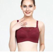 37b3dee62 Novo Design de Sutiã Mastectomia Bra Bolso para Mulheres com Câncer de Mama  Formas de Silicone Da Mama Encher ONEFENG Boobs Arti.
