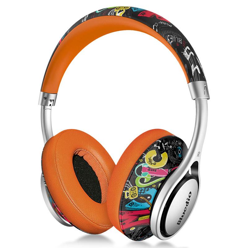 Prix pour D'origine Bluedio A2 (Air) Nouveau Modèle Bluetooth casque/casque À La Mode sans fil casque pour la musique pour MP3