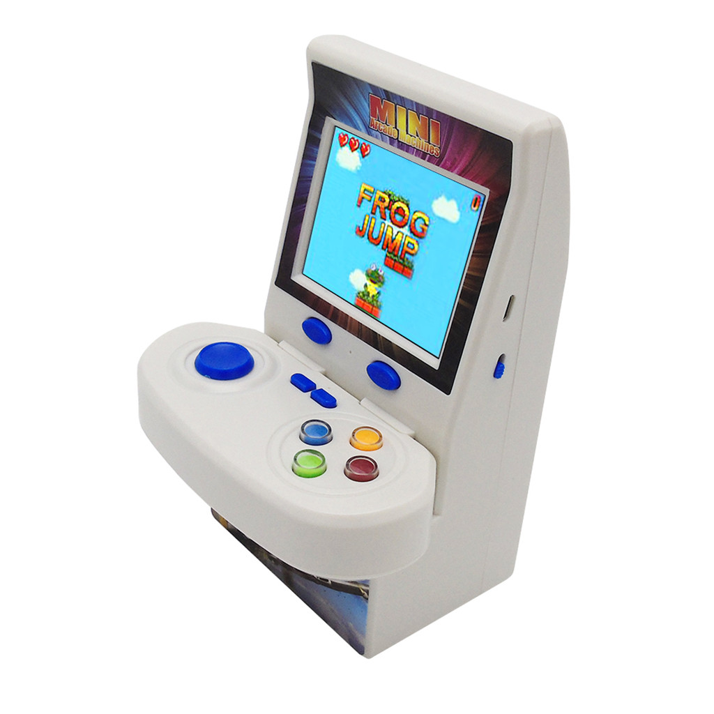 Retro Portable Mini Handheld Game Console 8-Bit 2.8 Inch Color LCD Kids Color Game Player Built-in 100 gamesr