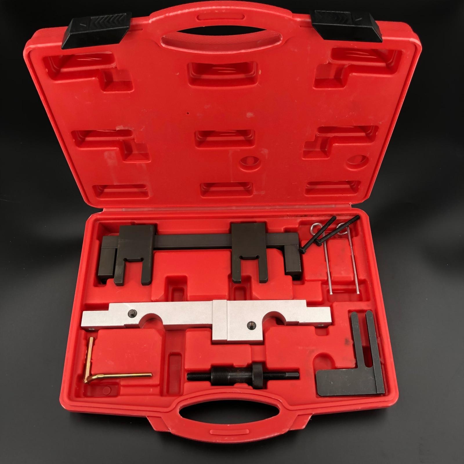 7 pièces Moteur Outil Alignement Arbre à Cames Pour BMW N43 1.6 2.0 E81 E82 E87 E88 E90 E91 E92 E93 Jeu D'outils De Synchronisation