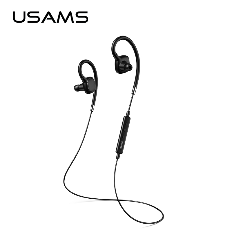 цены Universal Sport Wireless Earphones USAMS Stereo Bluetooth V4.1 Wireless Sports Earphone Headset with MIC Microphone