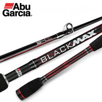 Original Abu Garcia Black Max BMAX Baitcasting Lure Fishing Rod 1.98m 2.13m M Power Carbon Spinning Fishing Cane