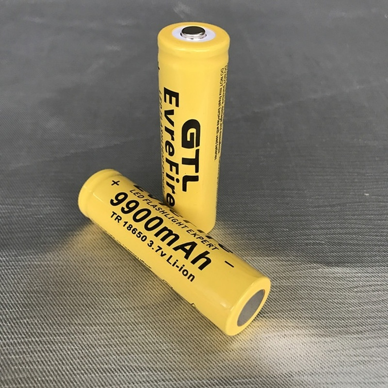 2/<font><b>4</b></font>/6/8pcs/set <font><b>18650</b></font> battery 3.7V 9900mAh rechargeable liion battery for Led flashlight batery litio battery cell GTL EvreFire image