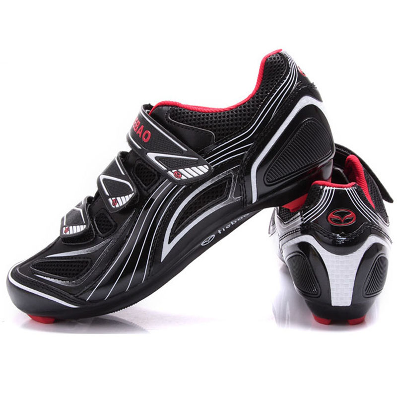 Teibao Professional Bicycle Racing Sports Mountain Bike Cycling Shoes Breathable Athletic Road Bike Auto-lock Shoes mountain bike four perlin disc hubs 32 holes high quality lightweight flexible rotation bicycle hubs bzh002