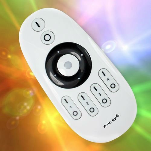 1Pc+Free Shipping+2.4G RF led light Remote Controller ,Adjust Brightness ,group division ,Countless Bulbs Can Be Controller