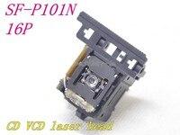Original novo SF-P101N/SF-101N 16pin/SF-P101 16pin óptico captador sfp101n/SFP-101N 16 p SF-P101NR para cd/vcd player laser lente