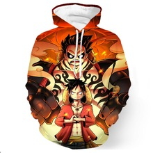 3D print The Luffy Gear Hoodie