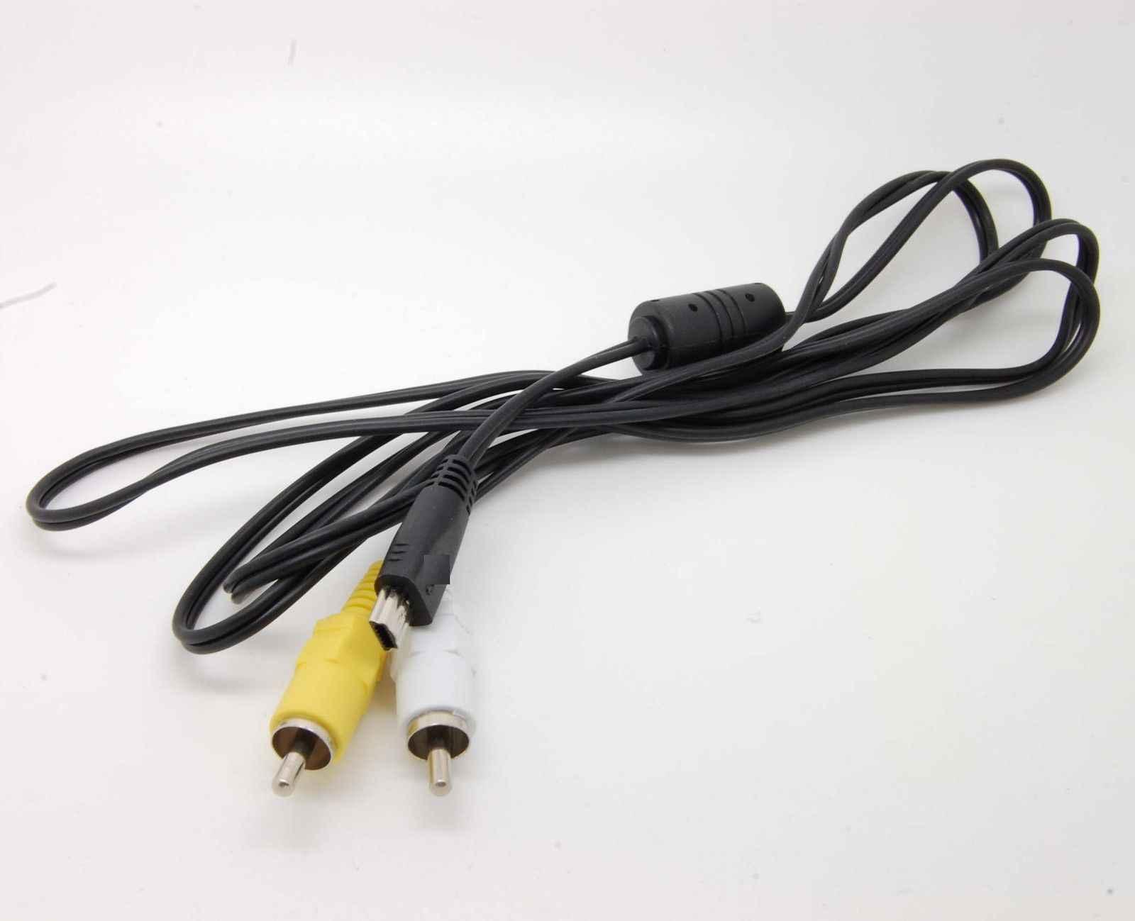 USB に 10Pin 3RCA ステレオ AV ケーブルキヤノン Eos 60D 7D ビデオ AVC-DC400ST キヤノン AVC-DC400 PowerShot EOS IXUS Optura avc-dc400st