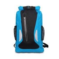 25L Outdoor Waterproof Swimming Bag Backpack Bucket Dry Sack Storage Bag Rafting Sports Kayaking Canoeing Travel Waterproof Bag
