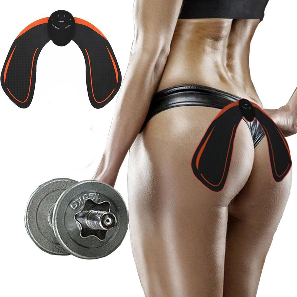 Hip Trainer EMS Lifting Buttock Muscle Electric Stimulator Integrated Fitness Equipments Body Slimming Gym Home Butt Toner