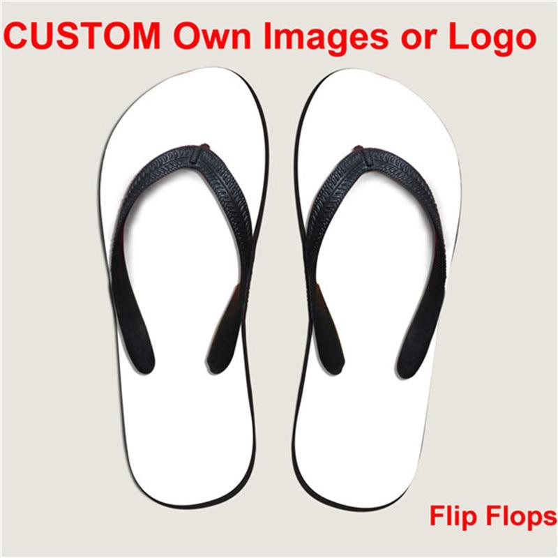 b075e7a6ff79a ELVISWORD Lightweight Customize Wholesale Flip Flops for Men Women Girls  Beach Shoes Footwear EVA Logo Print Gift Flats Sandals-in Flip Flops from  Shoes on ...