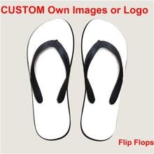 2d6cabb3644db ELVISWORD Lightweight Customize Wholesale Flip Flops for Men Women Girls  Beach Shoes Footwear EVA Logo Print