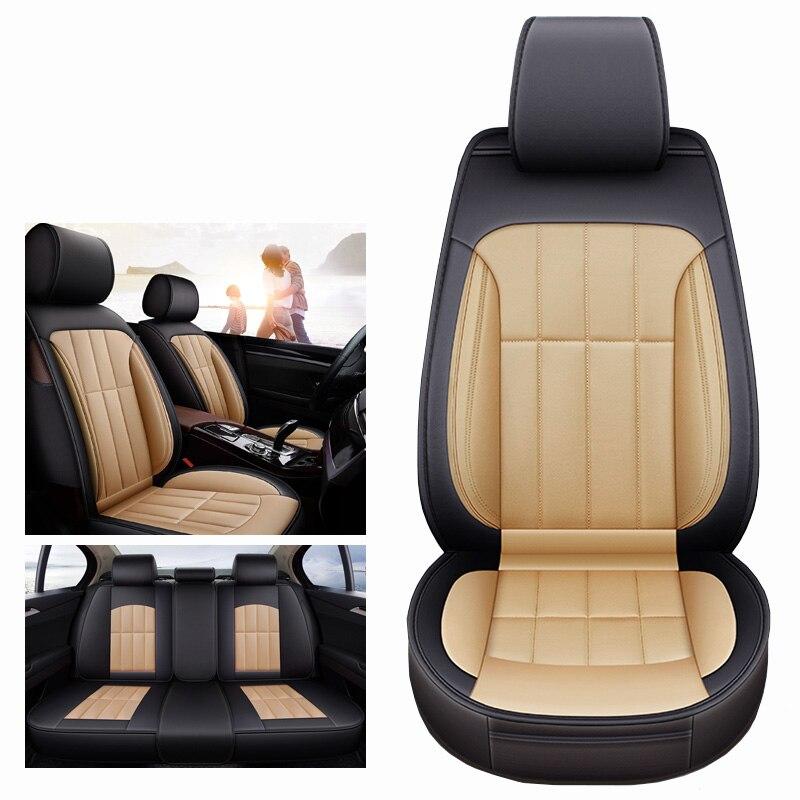 (Спереди и сзади) универсальный кожаный чехол автокресла для Lexus все модели gx470 nx lx470 ES RX GX GTH LX аксессуары тюнинг автомобилей
