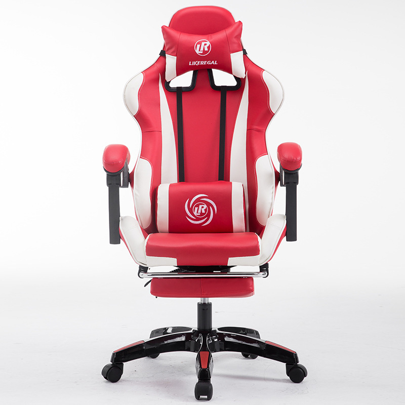 Computer Gaming adjustable height gamer rotating armrest pc Chair Home office Chair Internet Chair the silver chair