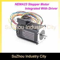 CNC NEMA 23 Integrated Stepper Motor with driver DIP switches 57 HS stepper motor with low heating and noise for CNC machine !