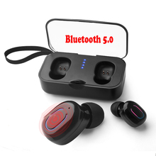 Wireless Bluetooth Earbuds Mini in Ear Bass Bluetooth 3D Stereo Sound Sports Earphones Noise with Mic & Charging Box for phone sound intone h6 stereo bass bluetooth earphones running sport with mic wireless earphones bass bluetooth headsets in ear