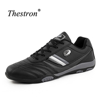 Thestron Men Running Trainers Black Running Shoes For Mens Spring/Autumn Men Sneakers Athletic Non Slip Sports Shoes For Mens