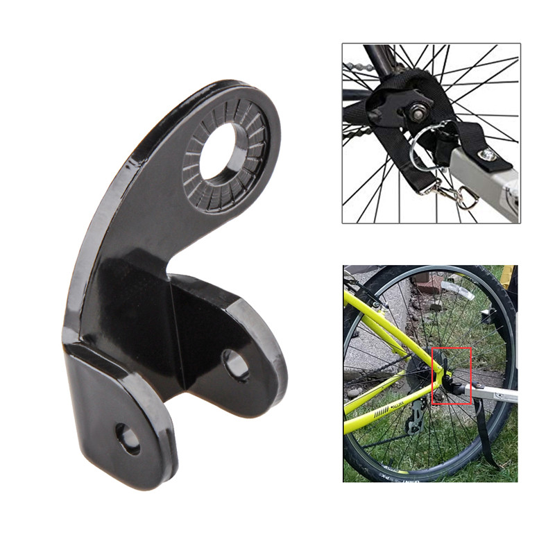 Baby Bike Bicycle Metal Rear Trailer#Hitch Axle Mount Adapter Coupler Connector