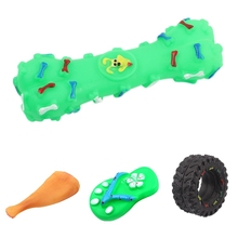 Pet Dogs Funny and Durable Squeaky Chew Toys for Cleaning Teeth and Solving Boredom Color Random-in Dog Toys from Home & Garden