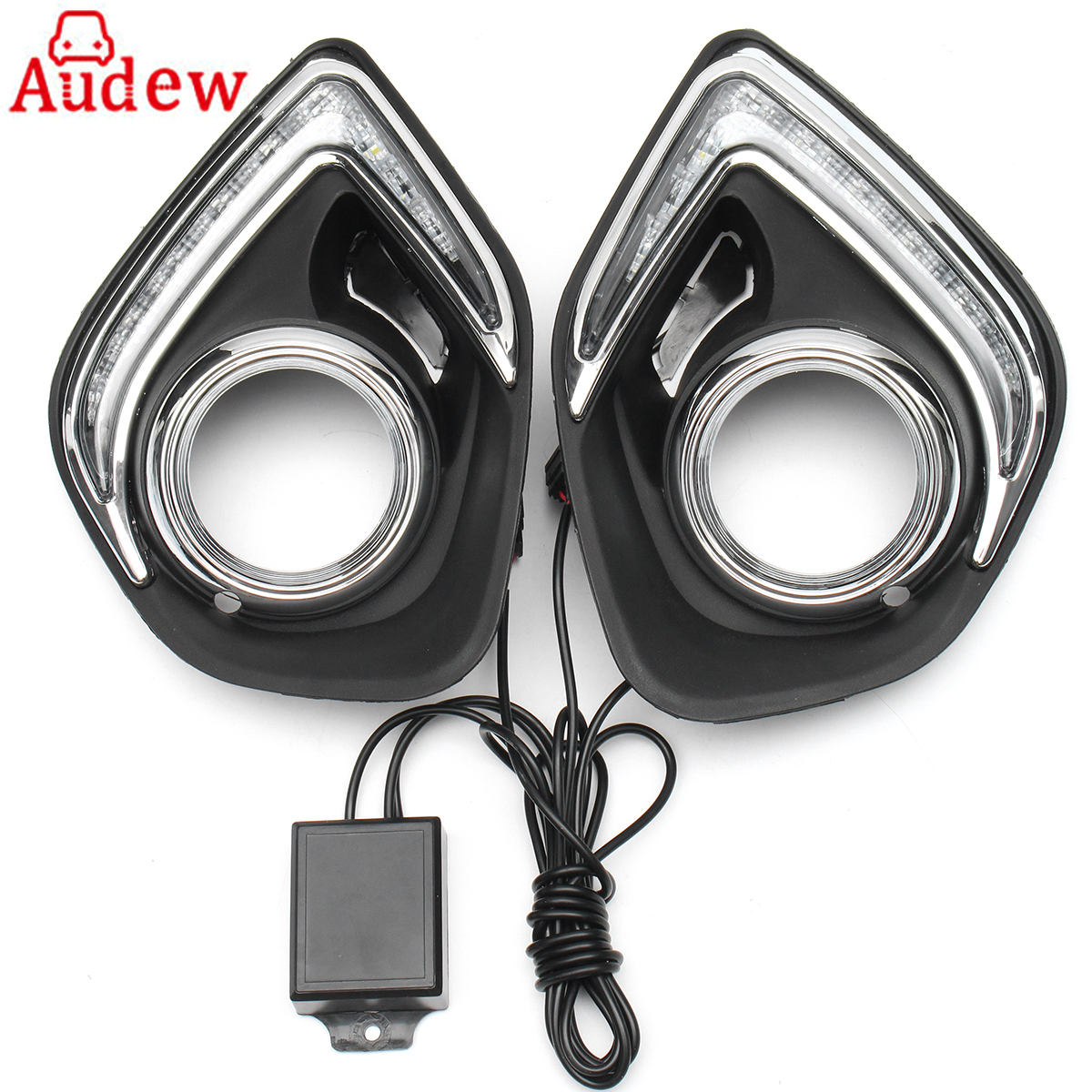 For Mitsubishi ASX 2013-2016 2pcs Car LED Daytime Running Lamp Day Fog Lights DRL high quality fast and free shipping car specific for mitsubishi asx drl led daytime running lights 2013 2014
